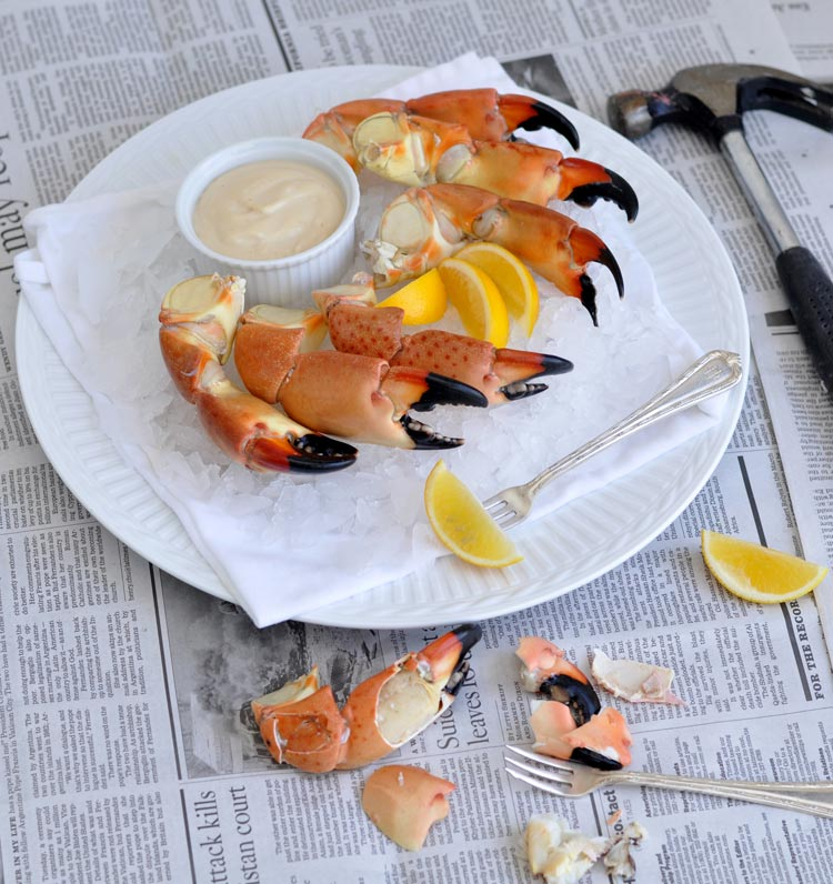 Stone Crab Claws with Mustard Sauce — Former Chef